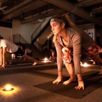 candles in fitness